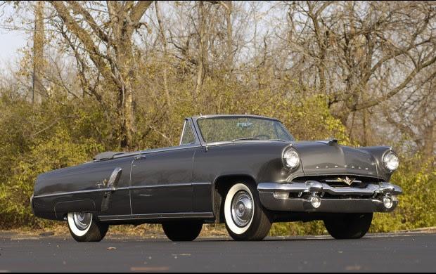1953 Lincoln Capri Convertible