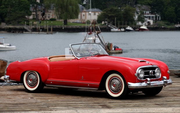 1953 Nash-Healey Roadster-2