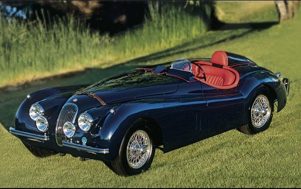 1954 Jaguar XK120 Roadster-5