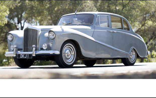 1956 Bentley S1 Hooper Sports Saloon