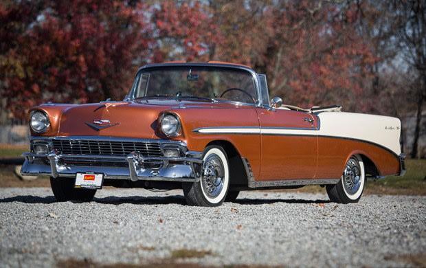 1956 Chevrolet Bel Air Convertible-4