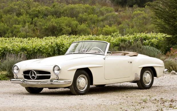 1956 Mercedes-Benz 190 SL-1