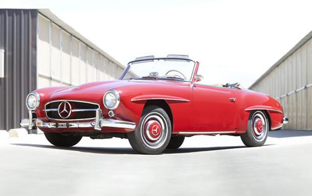 1957 Mercedes-Benz 190 SL-1