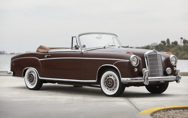 1957 Mercedes-Benz 220 S Cabriolet-2