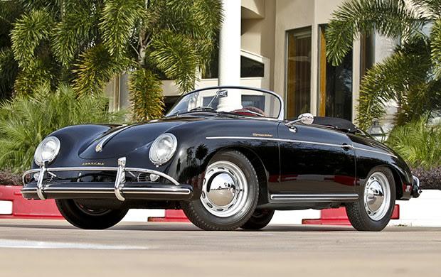 1957 Porsche 356 A Speedster-2