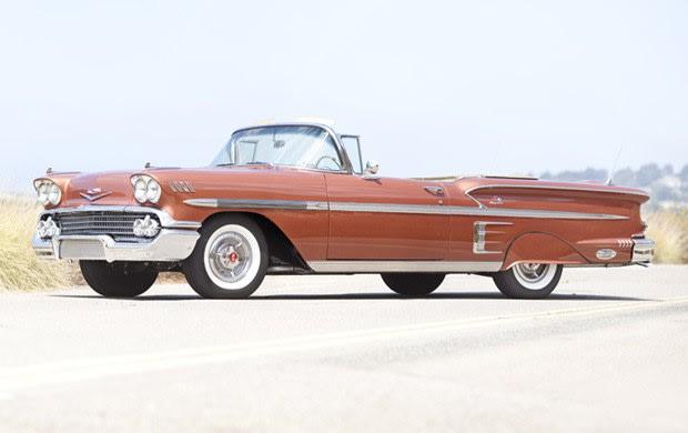 1958 Chevrolet Impala Tri-Power Convertible