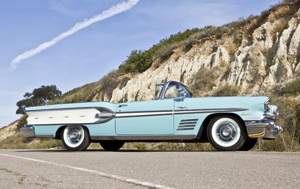 1958 Pontiac Bonneville Tri-Power Convertible