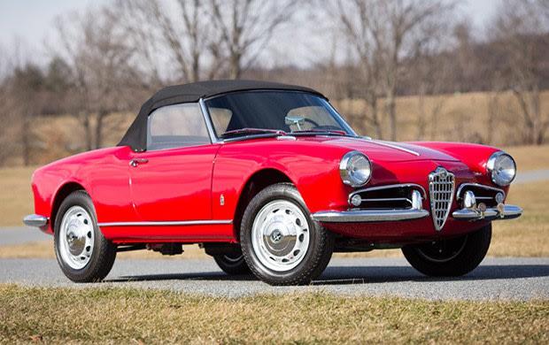 1959 Alfa Romeo Giulietta Spider-2