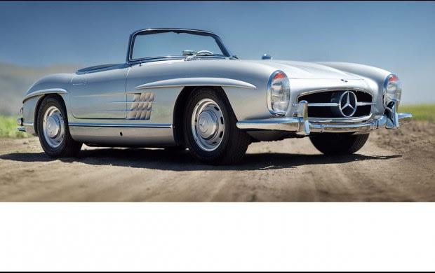 1959 Mercedes-Benz 300 SL Roadster-7