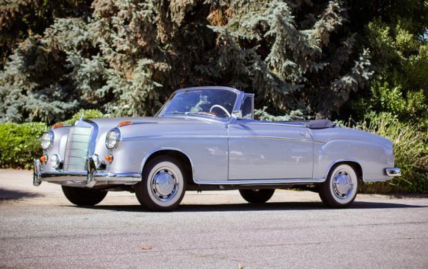 1960 Mercedes-Benz 220 SE Cabriolet (1)