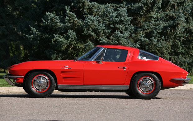 1963 Chevrolet Corvette Z06 Big Tank, Fuel-Injected Split-Window Coupe