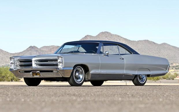 1966 Pontiac Bonneville Brougham Hardtop Coupe