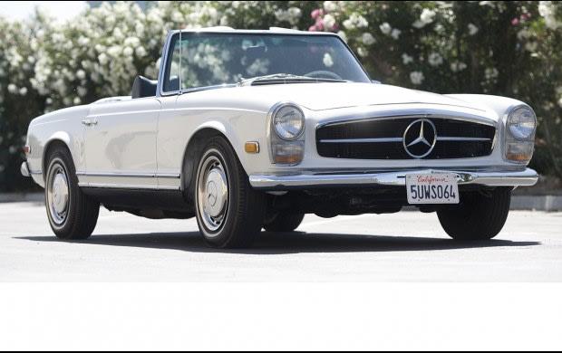 1969 Mercedes-Benz 280 SL-4