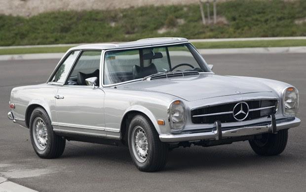 1970 Mercedes-Benz 280 SL-1