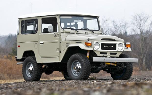 1979 Toyota Land Cruiser FJ40 Two-Door Hardtop