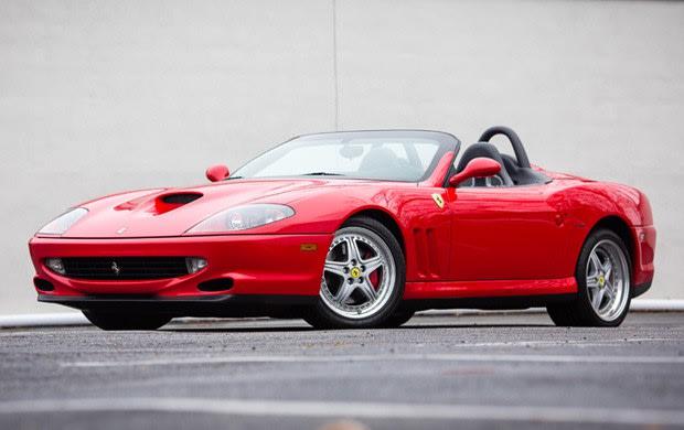 2001 Ferrari 550 Barchetta(2)