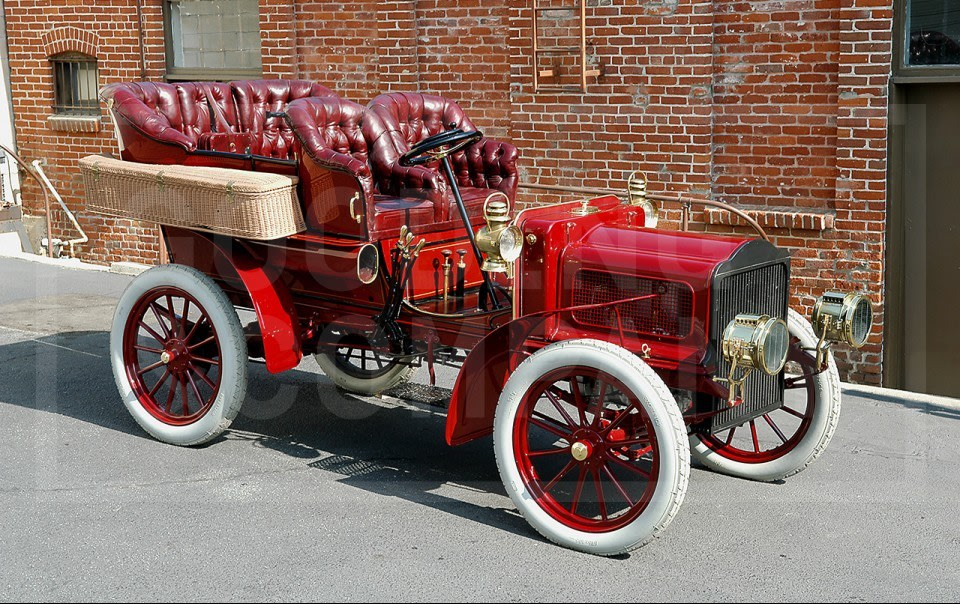 1904 White Type D Canopy-Top Touring Car