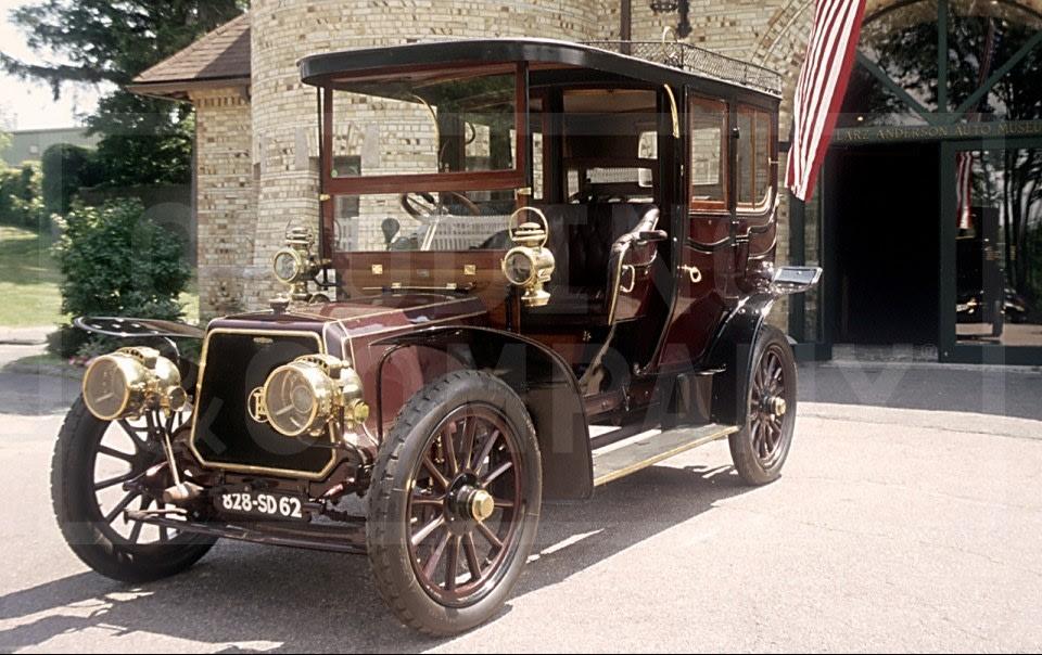 1907 Panhard-Levassor Model U2 Transformable Town Car