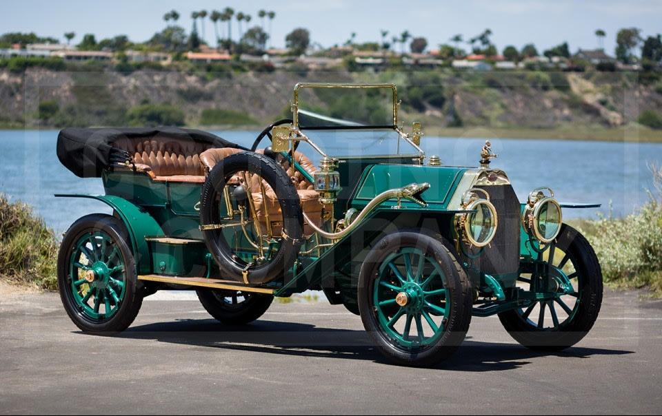 1911 Fiat Tipo 6 Four-Passenger Demi-Tonneau