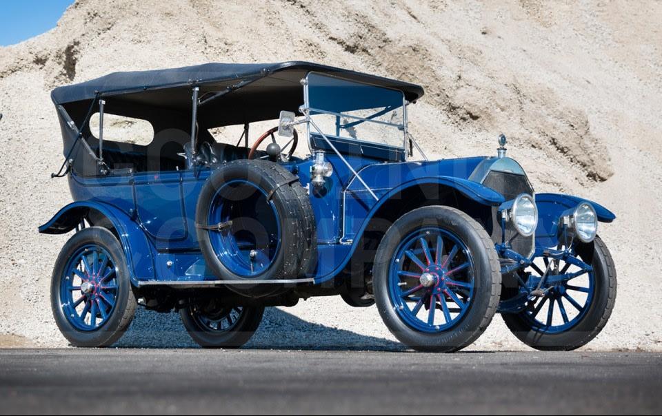 1913 Pierce-Arrow Model 48-B Five-Passenger Touring