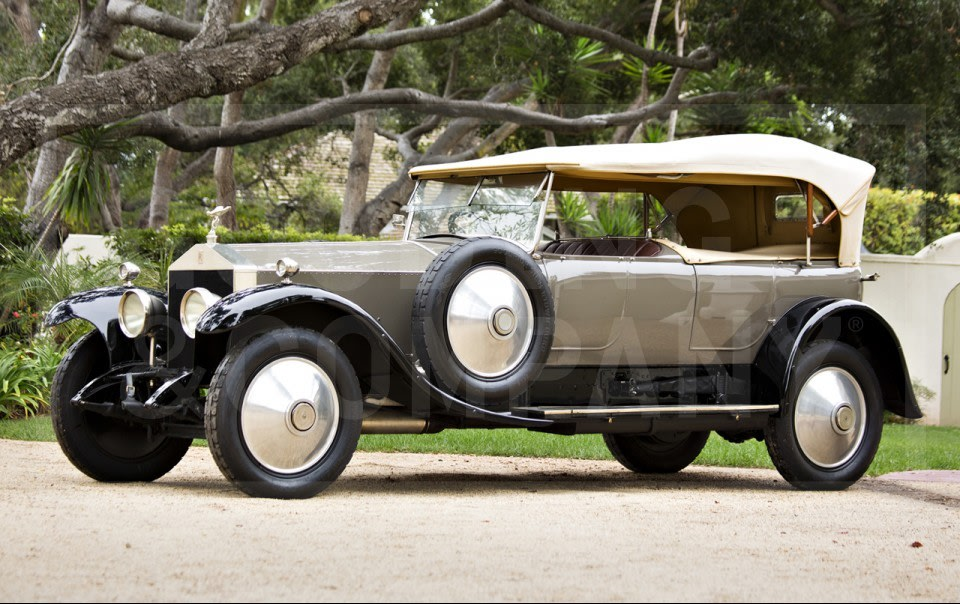 1923 Rolls-Royce 40/50 HP Silver Ghost Barrel-Sided Tourer