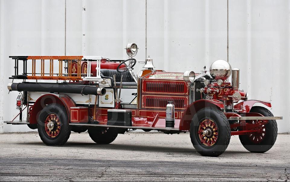 1925 Ahrens Fox NS4 Firetruck