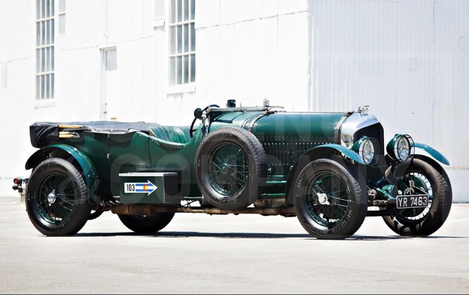 1926 Bentley 6 1/2 Litre Le Mans Sports