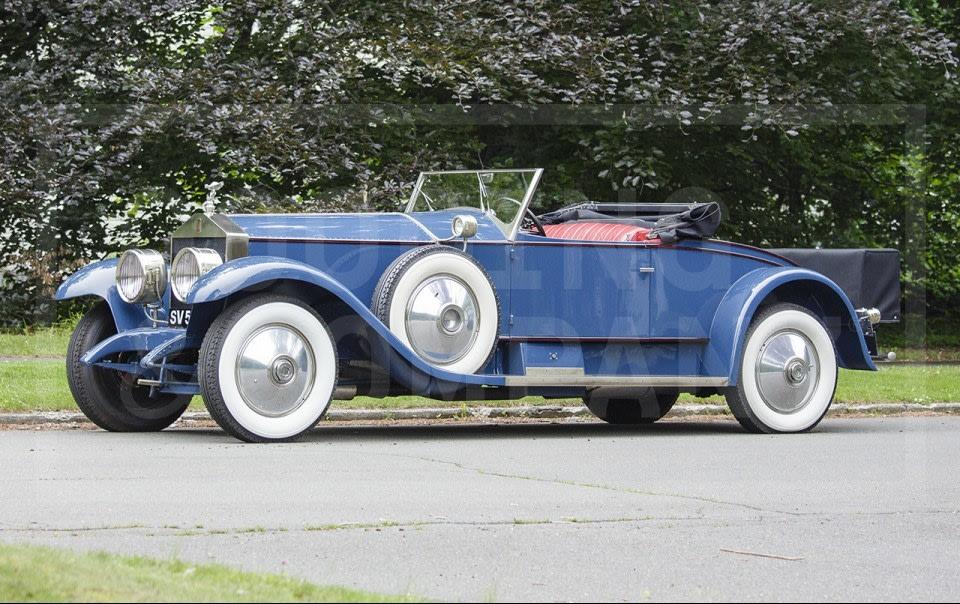 1926 Rolls-Royce Silver Ghost Playboy Roadster