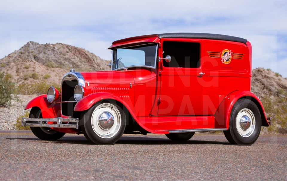 1928 Ford Model A Sedan Delivery Hot Rod