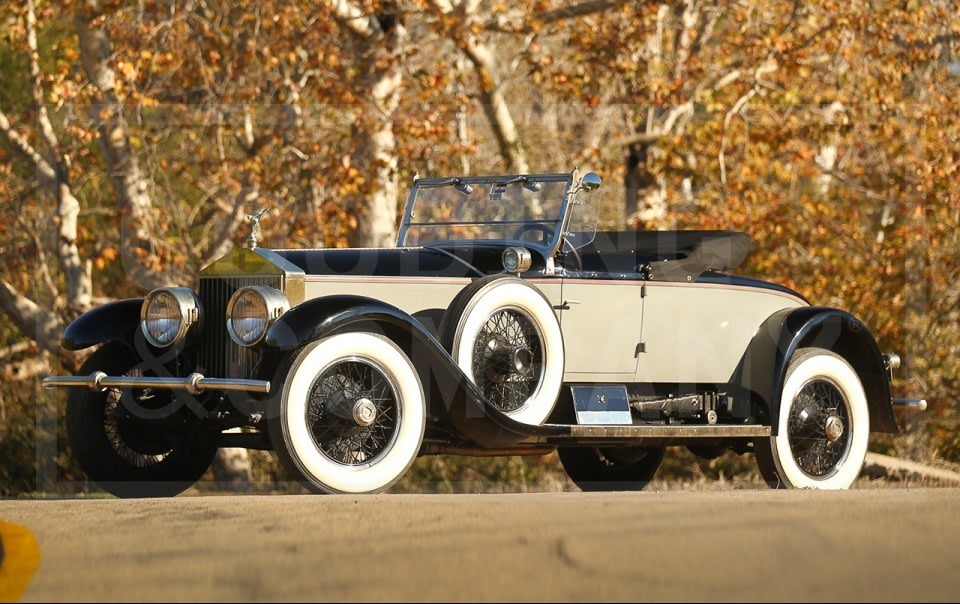 1928 Rolls-Royce Silver Ghost Piccadilly Roadster