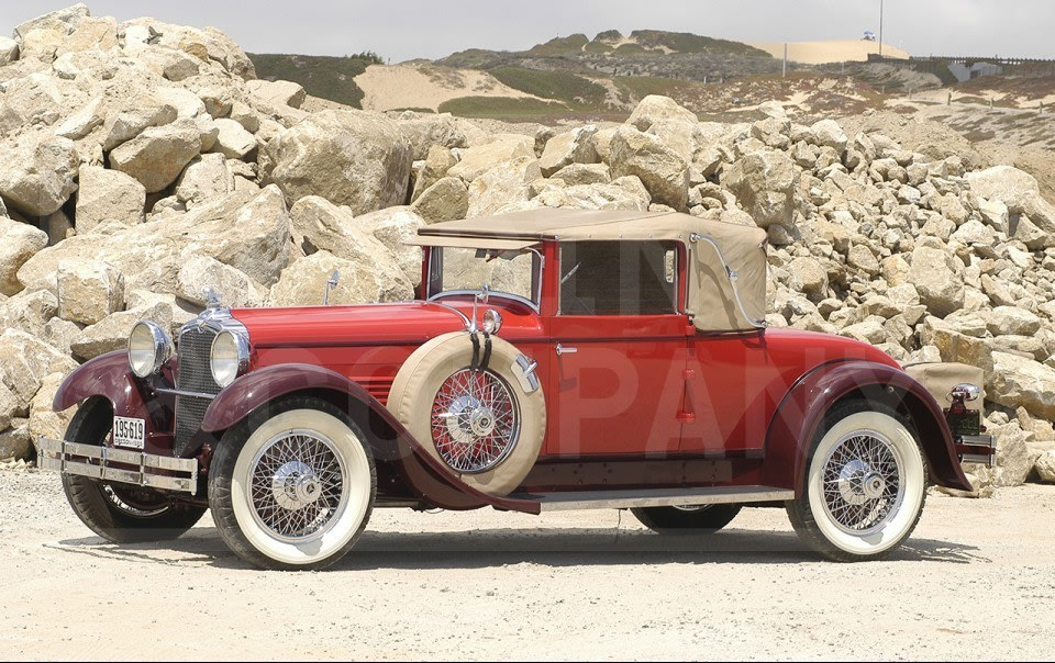 1928 Stutz Model BB Cabriolet Coupe-2