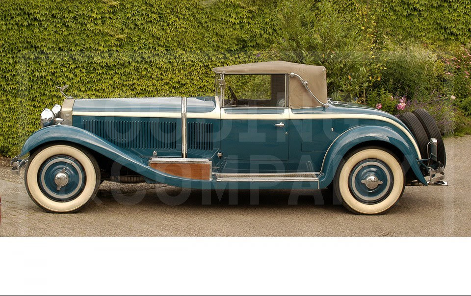 1929 Isotta-Fraschini 8A Commodore Roadster Cabriolet