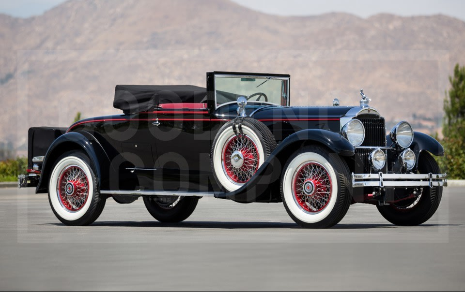 1929 Packard 640 Convertible Coupe