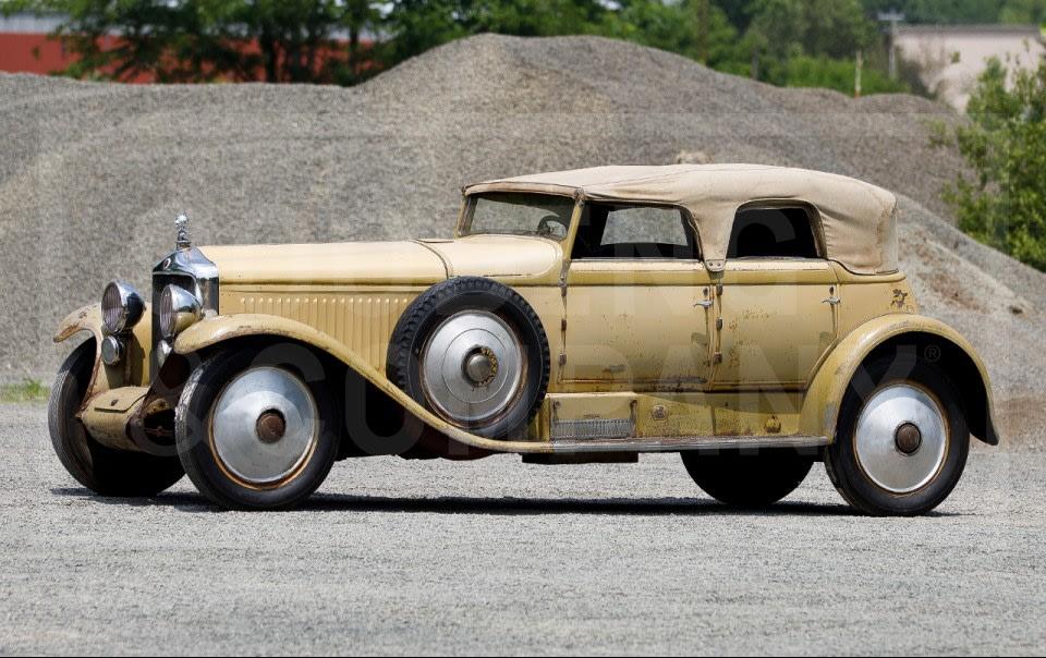 1930 Minerva AM Dual-Windshield Convertible Sedan