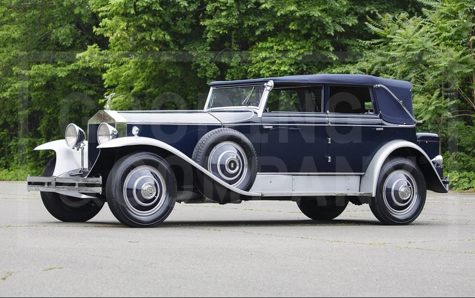 1930 Rolls-Royce Phantom I Newmarket-3