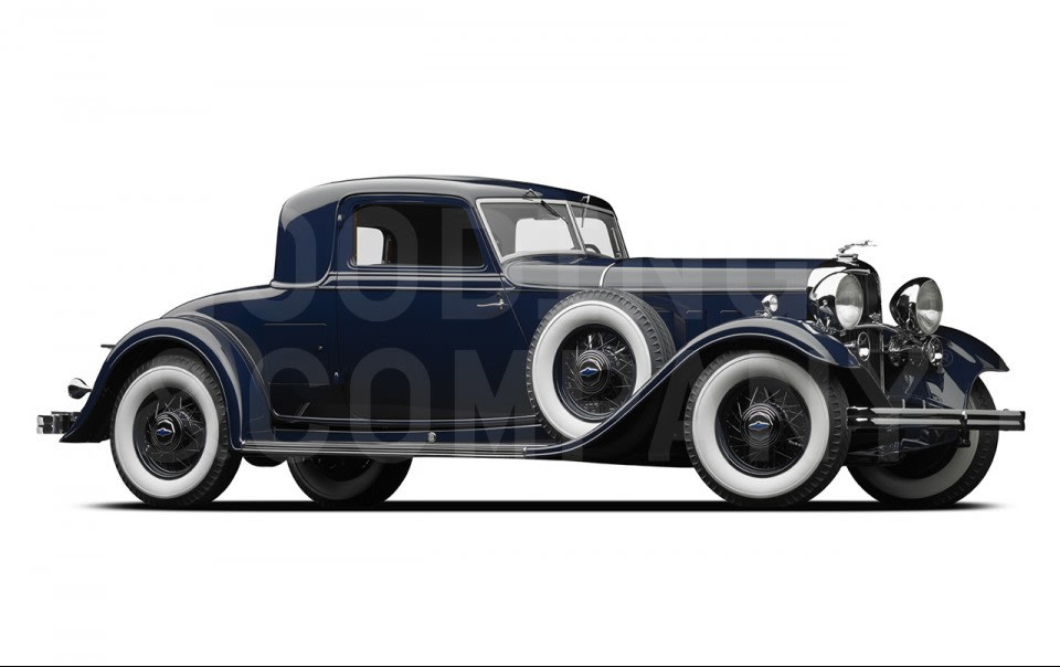 1932 Lincoln KB Custom Stationary Coupe