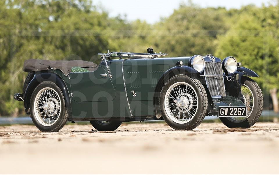 1932 MG F-Type Magna Tourer