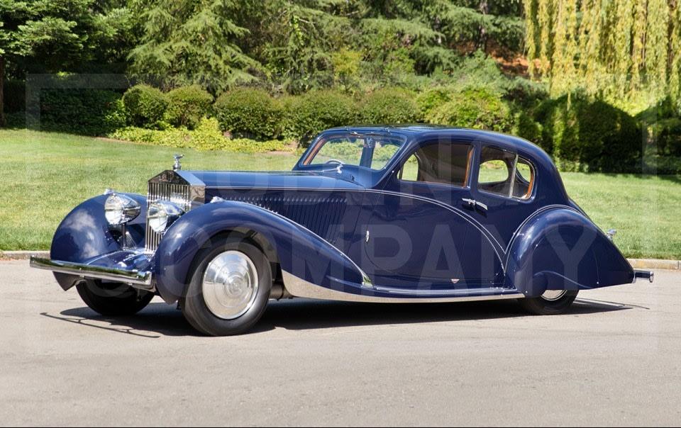 1932 Rolls-Royce Phantom II Continental Berline