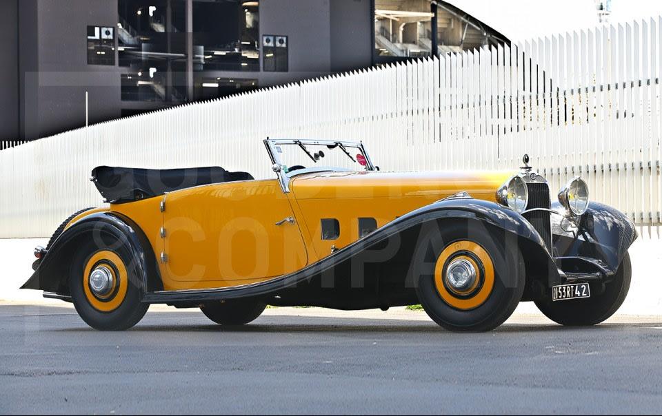 1933 Delage D8 S Cabriolet