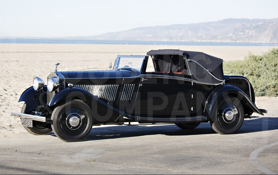 1933 Rolls-Royce 20/25 Three-Position Drophead Coupe-3
