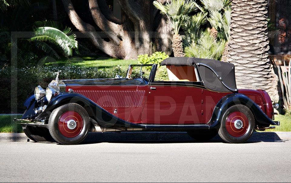 1933 Rolls-Royce Phantom II Continental Three-Position Drophead Coupe-3
