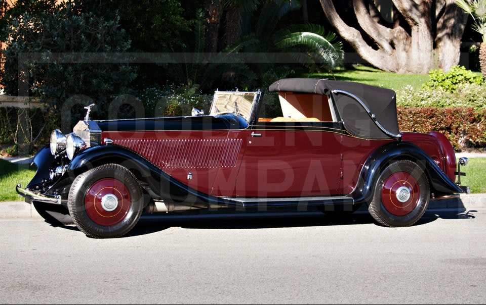1933 Rolls-Royce Phantom II Continental Three-Position Drophead Coupe