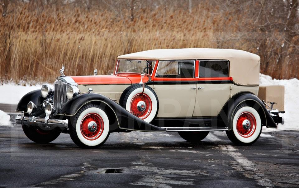 1934 Packard Eight 1101 Convertible Sedan (1)