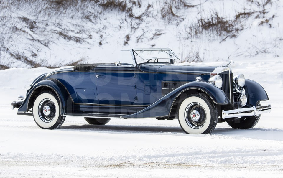 1934 Packard Eight 1101 Coupe Roadster
