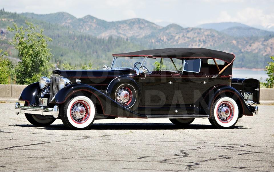 1934 Packard Twelve 1107 Dual-Windshield Phaeton