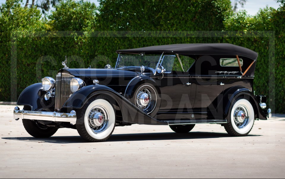 1934 Packard Twelve 1107 Seven-Passenger Touring-2