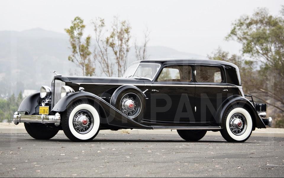1934 Packard Twelve 1108 Sport Sedan-1