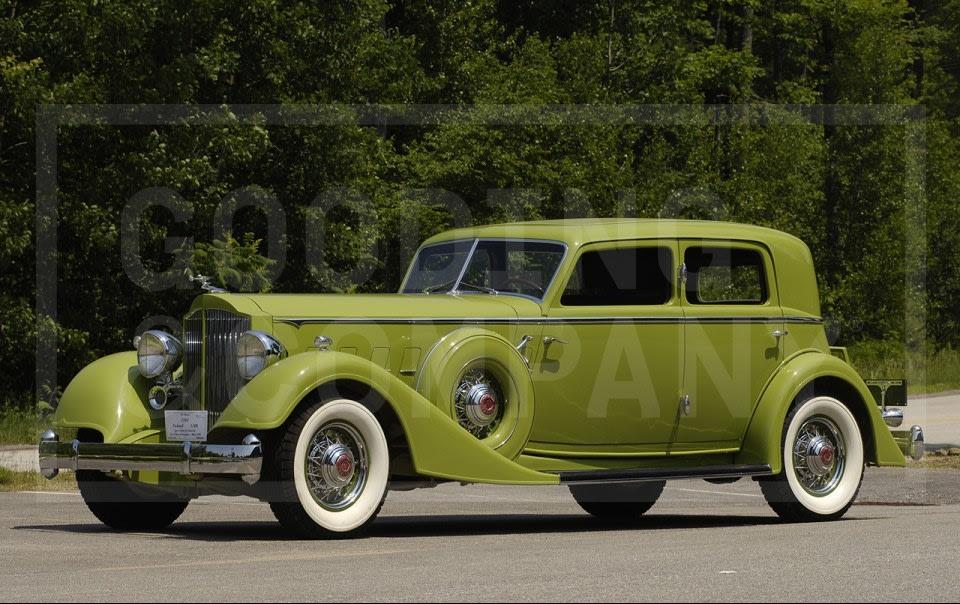1934 Packard Twelve Dietrich Sport Sedan