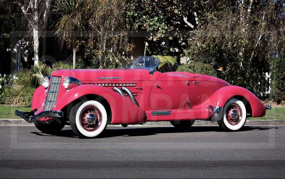 1935 Auburn 851 SC Boattail Speedster (1)
