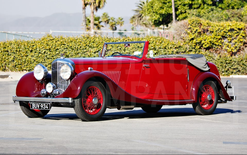 1935 Bentley 3 1/2 Litre Drophead Coupe (1)
